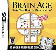 Brain Age: Train Your Brain in Minutes a Day! - - Brain Age: Train Your Brain in Minutes a Day is a fun, rewarding form of entertainment everyone can enjoy. Inspired by cutting-edge neuroscie Nintendo Ds, Nintendo Switch, Stroop Effect, Number Puzzle Games, Number Puzzles, Alzheimer's And Dementia, Dementia Awareness, Train Your Brain, Ds Games