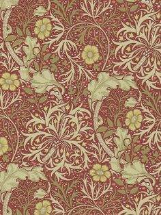 Behang William Morris