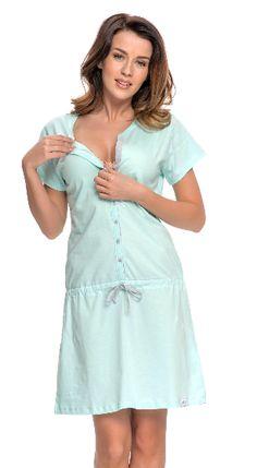 Koszula do karmienia 5041 LIGHT MINT