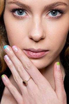 Give your tried-and-true pink and white French manicure designs a rest and try one of these fresh nail art ideas. Best Makeup Tutorials, Best Makeup Products, French Manicure Designs, Nail Candy, Perfect Nails, My Nails, Beauty Hacks, Nail Polish, Make Up