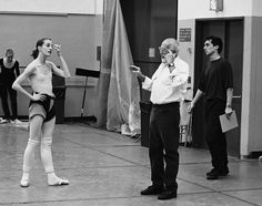 yoiness: Whelan rehearses with Jerome Robbins for Brandenburg Baroque to Jazz: A Musical Odyssey. Photograph: New York City Ballet © 2014 Guardian News and Media Limited or its affiliated companies. All rights reserved. City Ballet, Ballet Class, Ballet Dancers, Ballet Pictures, Dance Pictures, Ballet Photos, Dance Images, Jerome Robbins, Dancer Photography