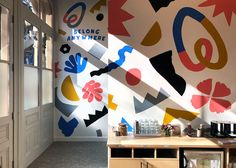 Airbnb: Portland Office Mural - Will Bryant Studio