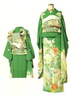 Kimono of Syowa era 5. 1930.