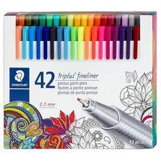 Staedtler® triplus® Fineliner Marker Pens, 42ct