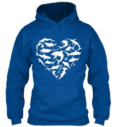 LIMITED EDITION: shark heart hoodie