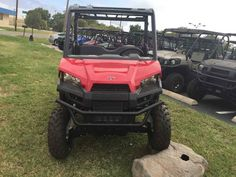 New 2017 Polaris RANGER 500 Solar Red ATVs For Sale in Texas. 2017 Polaris RANGER 500 Solar Red, 2017 Polaris® RANGER® 500 Solar Red Features may include: 58 Inch Width and Excellent Utility Value Smooth and Reliable 32 HP ProStar® EFI Engine Features Best In Class Torque Plush Suspension Travel and Refined Cab Comfort for 2 Creates an Excellent Ride POWER FEATURES CLASS-LEADING TOWING AND PAYLOAD With full 1,500 lbs. towing and standard 2 receiver, the RANGER 500 allows you to tackle the…