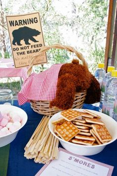 """Photo 1 of 35: Camping/Woodsy / Birthday """"Camping Party for Ethan's 9th Birthday"""" 