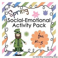 Spring Social Emotional Activity Pack