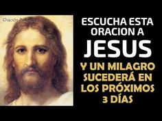 Escucha esta oración a Jesús y un milagro sucederá en los proximos 3 días - YouTube Happy New Year Greetings, Youtube, Prayers, Religion, Amen, Barbie, Good Morning Photos, Truths, Happy