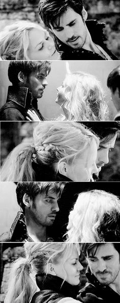 OUAT - Captain Swan. Even when he can't remember her. He still loves her.