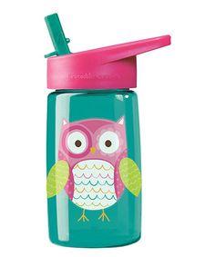 Look what I found on #zulily! Owl 16-Oz. Tritan Water Bottle #zulilyfinds