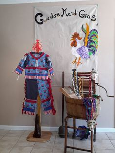 Traditional Mardi Gras Child Costume T Crawfish by CoudreMardiGras