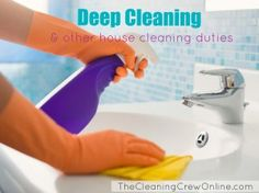 What is included in a deep cleaning? The answer to this & other FAQs