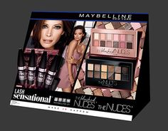 "for AHEAD Advertising Agency @Behance portfolio: ""POSM Maybelline display LashSensational"" http://be.net/gallery/48810807/POSM-Maybelline-display-LashSensational"