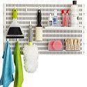 White elfa utility Board Laundry Solution
