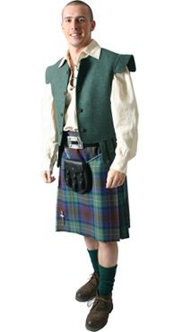 Casual Outfit Scottish Clans Tartans Kilts Crests and Gifts
