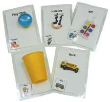 Talking My Way Object Communication cards sets.  Child and Teen/Adult card sets each contain 30 object cards.