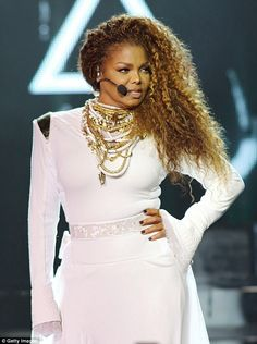 On hold: Janet Jackson postponed four of her Unbreakable World Tour concerts over the weekend after being told to rest her vocal chords by her doctor