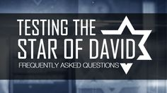 Testing the Star of David — FAQ 119 Ministries, Star Of David, Walking, Company Logo, Teaching, Stars, Walks, Sterne, Education