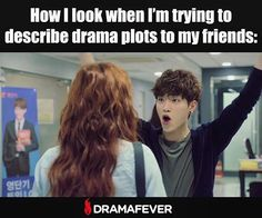 Yeah, maybe I get a little too excited about my #kdramas And my friends are…