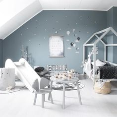 Monday crushing // Oh to be a kid again! The fun that we would have in this stunning space by Find the stunning Mouse Table and Chair range at GF HQ xx. Baby Bedroom, Nursery Room, Kids Bedroom, Bedroom Decor, Kids Brand, Toy Rooms, Play Spaces, Table And Chairs, House Design
