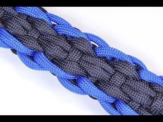 "▶ How to Make the ""Rugby"" Design Paracord Survival Bracelet - BoredParacord - YouTube"