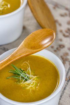 Crema de lentejas y zanahoria - Slimming Russia