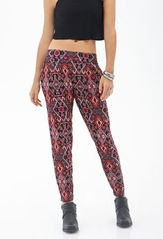 Abstract Geo Harem Pants   FOREVER21 - 2000120990