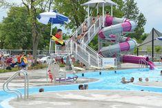 La population invitée à l'ouverture officielle du complexe aquatique Population, Basketball Court, Camping, Journal, Sports, Fun, Travel, Saint Francis, City Office