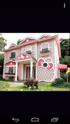 Hello Kitty house <3