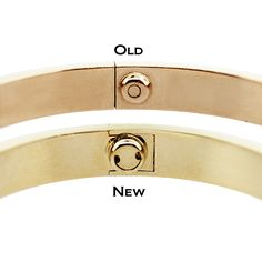 The Difference Between New Model Cartier Love Bangle & Old Cartier Love Bangle, Cartier Bracelet, Cartier Jewelry, Jewellery, Love Bracelets, Fashion Bracelets, Cuff Bracelets, Bangles, Luxury Jewelry