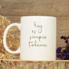 Ya lo dijo Machado: 'Hoy es siempre... todavia'. Estrenamos nuevas tazas con sello #uboshop    http://www.unabodaoriginal.es/es/tazas-decoradas.html   #unabodaoriginal #tazaspersonalizadas #hoyessiempretodavia #regalosnavidad