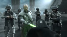 General Rahm Kota and Militia Elite Troopers
