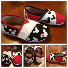 Kids and Ladies Painted Canvas Shoe by DesignsbyKaylaHainer, $52.00
