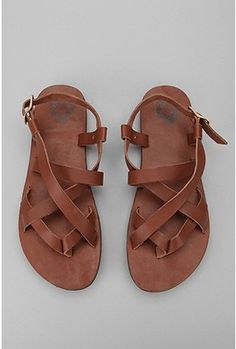 Leather Strap Sandal from UO
