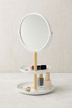 Tosca Tiered Catch-All Dish With Mirror - Urban Outfitters