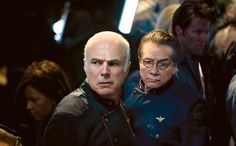 Still of Edward James Olmos and Michael Hogan in The Plan
