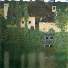 Schloss Kammer am Attersee I (Wasserschloss) 1908