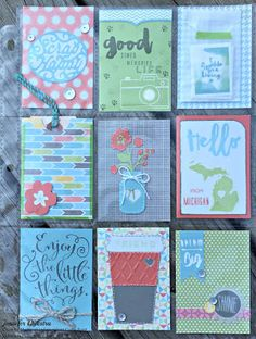 National Stamping Month (Hello Life) Blog Hop