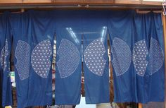 Sashiko curtains/dividers