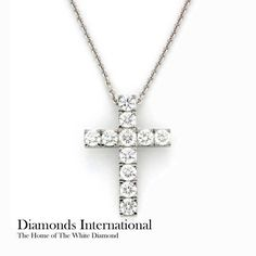 18ct white gold diamond cross pendant product reference 1100752 18ct white gold diamond cross pendant product reference 1100752 diamonds diamondsinternational white gold cross pendant necklace religiou aloadofball Choice Image
