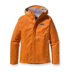 Patagonia Men's Torrentshell Jacket - Folds in on itself for easy packing. Heavy. Marmot Minimalist weighs half as much.
