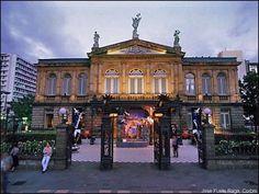 Later we'll visit San Jose's colorful Plaza de Culture & the National Theatre, a magnificent building of post Baroque splendor.