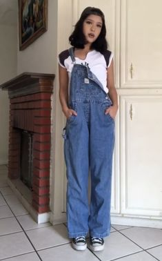 Aesthetic Style, Aesthetic Fashion, Alternative Style, Alternative Fashion, Overalls Fashion, New Instagram, Dungarees, School Outfits, Trendy Outfits