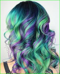 Hairstyles, cool hair color, hair looks, dyed hair, unicorn hair co Blue Mermaid Hair, Unicorn Hair Color, Blue Ombre Hair, Nyc, Crazy Hair, Cool Hair Color, Brunette Hair, Trendy Hairstyles, Gorgeous Hairstyles