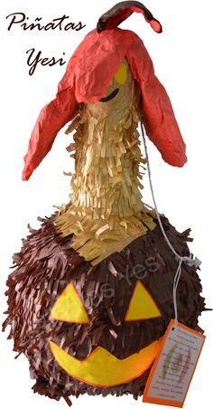 Piñata 3D de Gourgeist de los Pokémon.