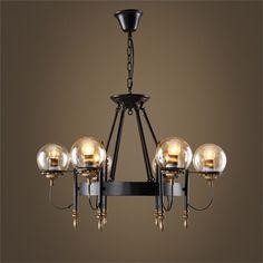 シャンデリア 北欧照明 照明器具 インテリア照明 アンティーク 6灯
