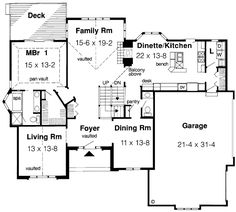 Browse our large selection of house plans to find your dream home. Deck Plans, Garage Plans, Shed Plans, Custom Home Designs, Custom Homes, I Love House, Family House Plans, Floor Plans, House Design