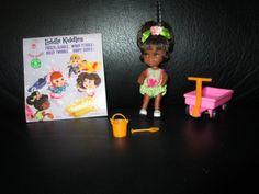 Vintage Liddle Kiddles Rolly Twiddle Black Doll Little Pink Wagon Complete Set   eBay