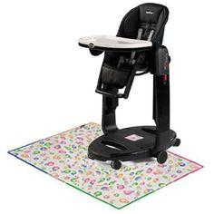 Peg Perego – Tatamia Multipurpose Baby Seat Kit- Licorice with Splat Matt